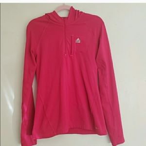 Adidas jacket Tech Fit Pink Fitted Hoodie
